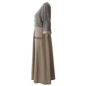 Women's manteau 1100007 code - dress side gray