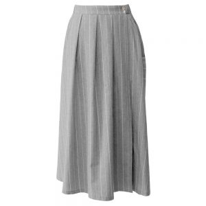 Summer women's long skirt 1030007 code - Charcoal