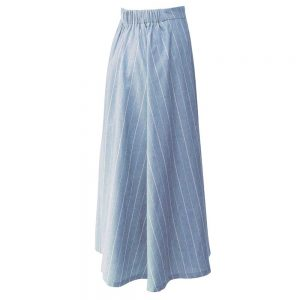 Summer women's long skirt 1030007 code - Blue