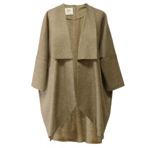 Summer women's short manteau 1100016 code - earthen