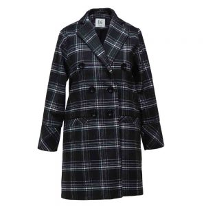 Women's plaid coat 10700020 code