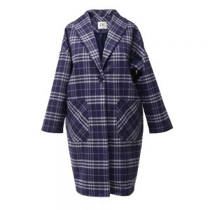 Women's plaid coat 10700021 code