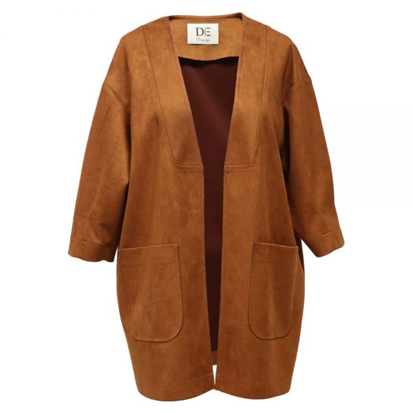 Fall women's jacket 1100041 - russet